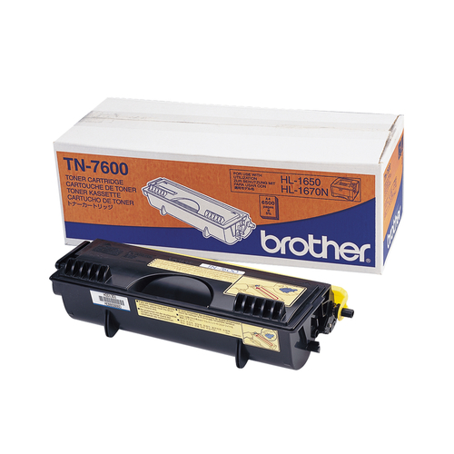 Brother TN 7600 Sort 6500 sider