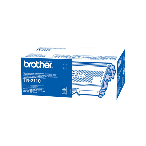 Brother TN 2110 Sort 1500 sider