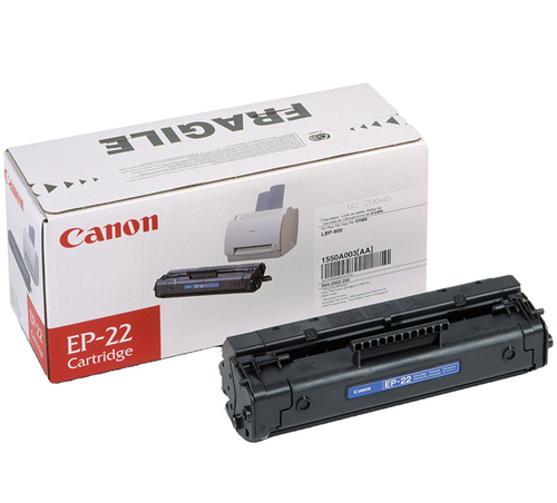Canon EP 22 Sort 2500 sider