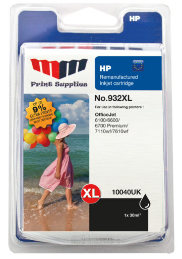 Black Inkjet Cartridge No.932XL (CN053AE)