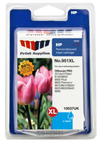 Cyan Inkjet Cartridge No.951XL (CN046AE)