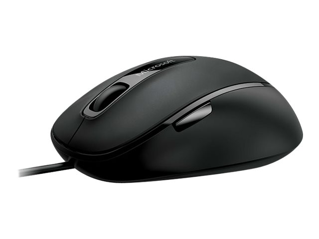Microsoft Comfort Mouse 4500 for Business Optisk Kabling Sort